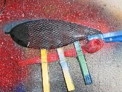 Buster Jerk - Fischdekor lackieren