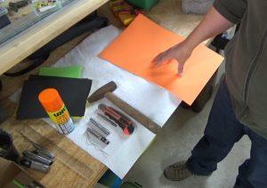 Farbige Popper Köpfe Selber Bauen Werkzeug und Material