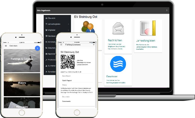 Catchium - Ein Online-Service für Angelvereine und dessen Mitglieder